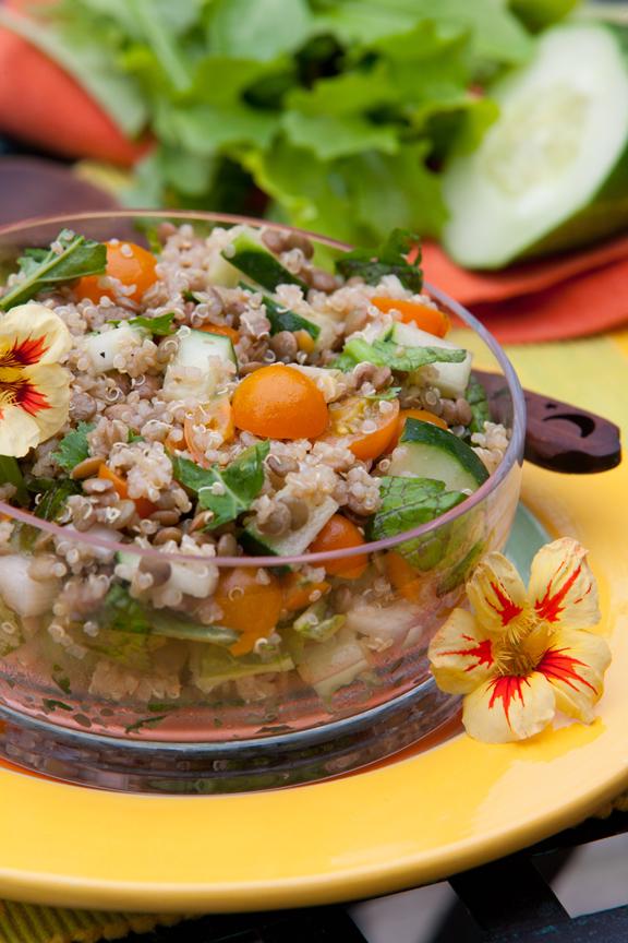 Quinoa and Arugula Salad Recipe