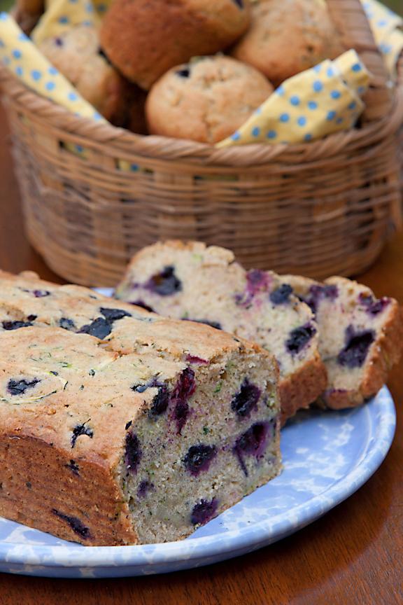 Blueberry Zuke Bread