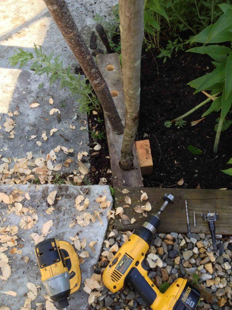 drill bits of wood