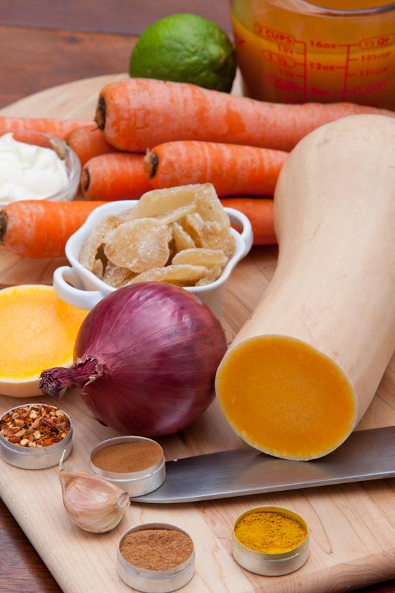 01 carrot squash soup