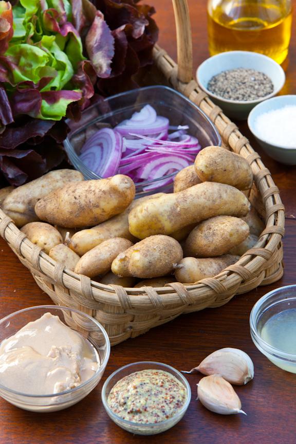 Potato Salad with Lemon Tahini Dressing