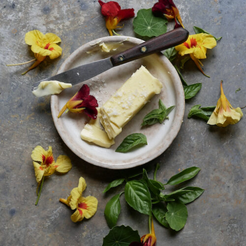 nasturtium butter