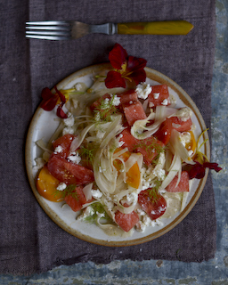 Fennel and Watermelon Salad