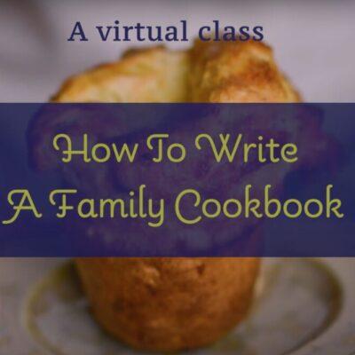 Cookbook Class Video